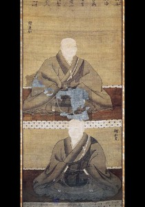 蓮如・如光二尊連坐像(応仁2年(1468))